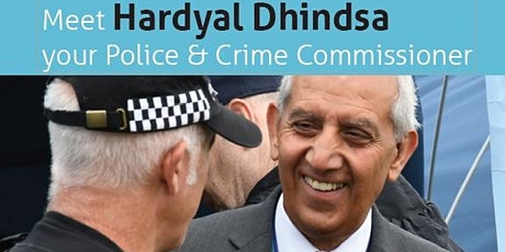 Meet Your Police & Crime Comissioner Hardyal Dhindsa - Chesterfield tickets