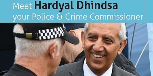 Meet Your Police & Crime Comissioner Hardyal Dhindsa - Chesterfield