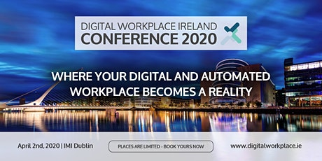 DIGITAL WORKPLACE IRELAND CONFERENCE 2020 tickets