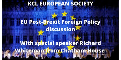 Chatham House Member Richard Whitman discusses EU ForeignPolicy Post-Brexit tickets