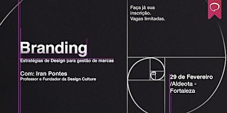 Curso Branding: Estratégias de Design para Gestão de Marcas em Fortaleza ingressos