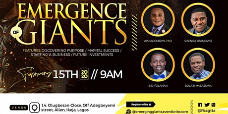 Emergence of Giants tickets