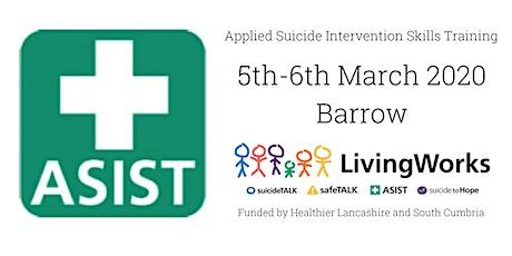 ASIST (Applied Suicide Intervention Skills Training) - Barrow tickets