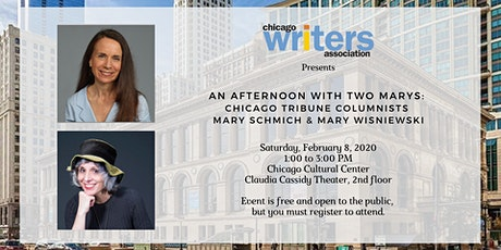 CWA Presents An Afternoon with Two Marys: Chicago Tribune Columnists, Mary Schmich and Mary Wisniewski tickets