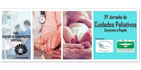 III Jornada de Cuidados Paliativos de Campinas e Região ingressos