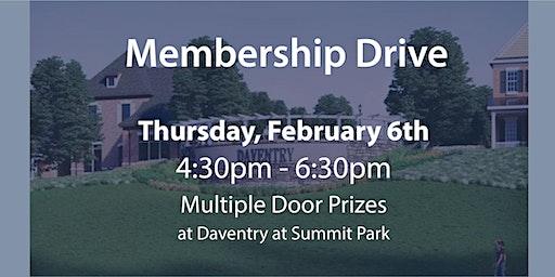 2020 February Membership Drive