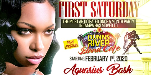 """1ST SATURDAY"" WITH DJKIRKY-C- @DUNNS RIVER ISLAND CAFE,TAMPA FLORIDA"