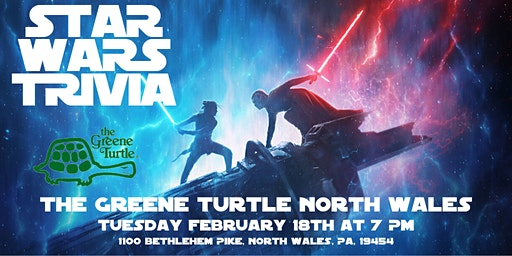 Star Wars Trivia at The Greene Turtle North Wales