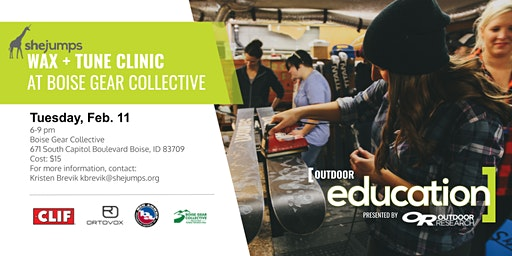 ID SheJumps Wax and Tune Clinic at Boise Gear Collective