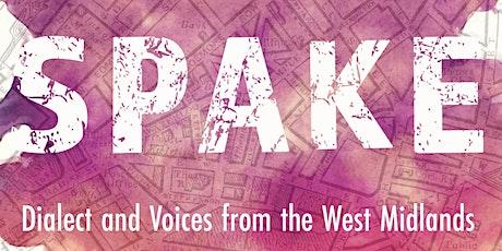 Spake: in conversation with Roy McFarlane, Lisa Blower and Urszula Clark tickets