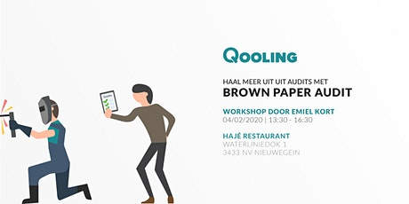 Workshop: Haal meer uit audits met Brown Paper Audit tickets