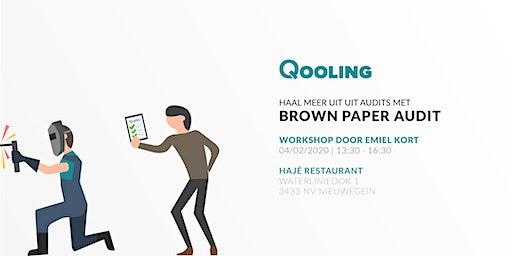 Workshop: Haal meer uit audits met Brown Paper Audit