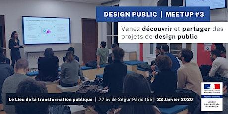 Design Public - Meetup #3 billets