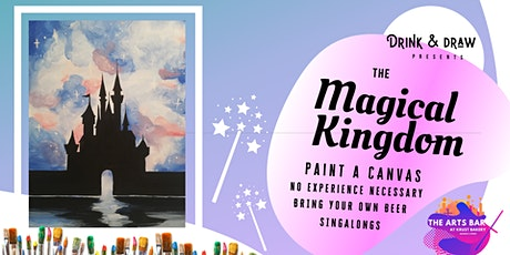 Drink & Draw: The Magical Kingdom - SECOND DATE tickets