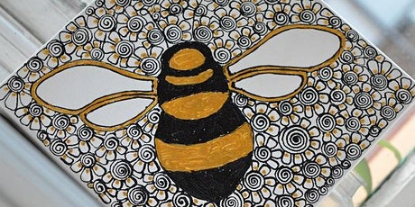 Manchester Bee Canvas Design Workshop tickets