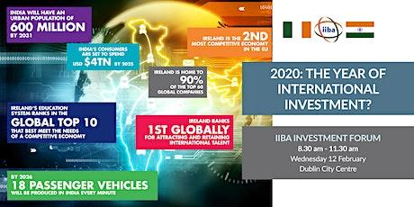 IIBA Investment Forum 2020 tickets