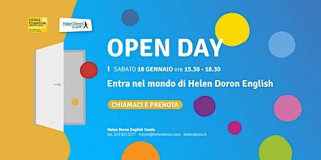 Open day scuola di inglese a Trento biglietti