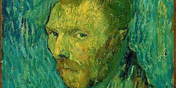En ekte van Gogh: Selvportrett (1889)