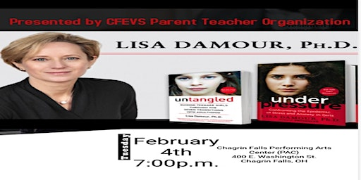 Dr. Lisa Damour - Expert in Child and Adolescent Anxiety and Stress