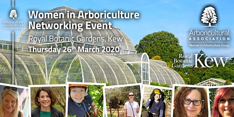 Women in Arboriculture Networking Event @ Kew tickets