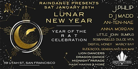 J. Phlip, DJ Madd & more | Raindance Presents: Lunar New Year of the Rat tickets