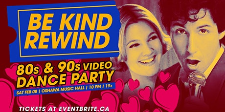 Be Kind Rewind: 80s & 90s Video Dance Party tickets