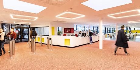 Inauguration de l'accueil et de l'espace culture rénovés de la bibliothèque billets