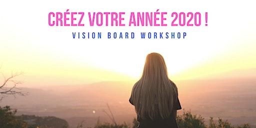 VISION BOARD WORKSHOP : CRÉEZ VOTRE ANNÉE 2020 À MUNICH  !