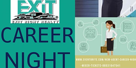 EXIT RIGHT REALTY'S  NEW YEAR  -Agent Career Night tickets