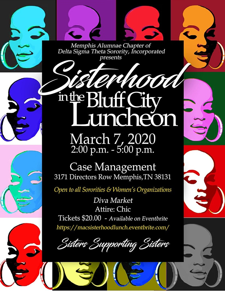 Sisterhood in the Bluff City- Social Luncheon image