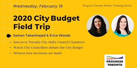 Winter Training Series: City Budget Field Trip tickets
