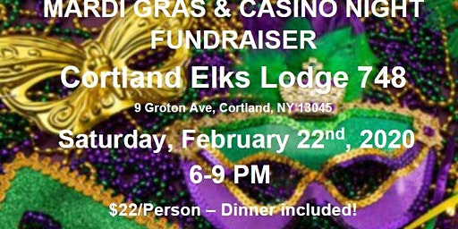Mardi Gras & Casino Night Fundraiser