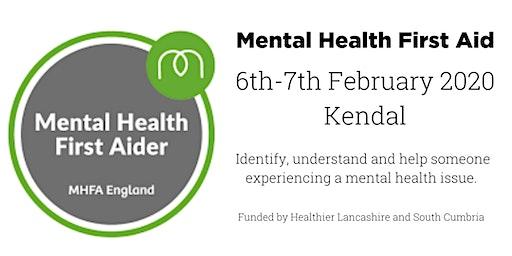 MHFA (Mental Health First Aid) - Kendal