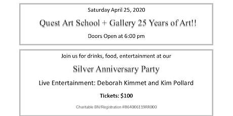 Quest Art School + Gallery 25 Years of Art tickets