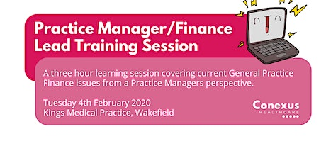 Practice Manager/Finance Lead Training Session tickets