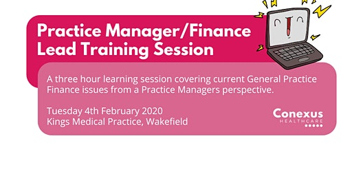 Practice Manager/Finance Lead Training Session