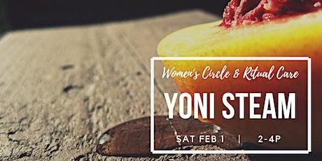 Yoni Steam: Women's Circle & Ritual Care tickets