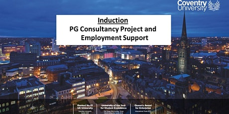 Induction to Consultancy Project and Employment Support (Jan 2020 cohort) tickets