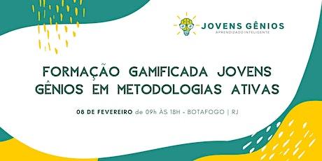 Formação Gamificada Jovens Gênios em Metodologias Ativas - Rio de Janeiro ingressos