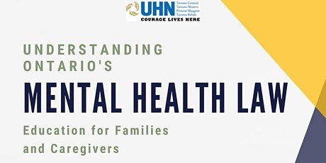 Understanding Ontario's Mental Health Law: Education Seminar tickets