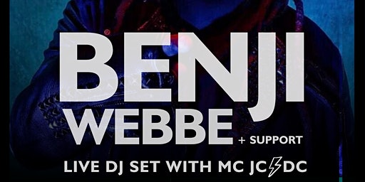 Benji Webbe (Skindred) DJ Set + Support MC JCDC - LIVE IN WREXHAM