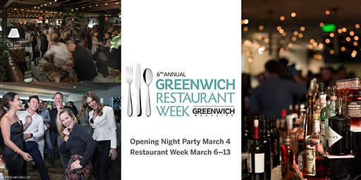 Greenwich Restaurant Week Opening Night Party