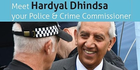 Meet Your Police & Crime Comissioner Hardyal Dhindsa - South Derbyshire tickets