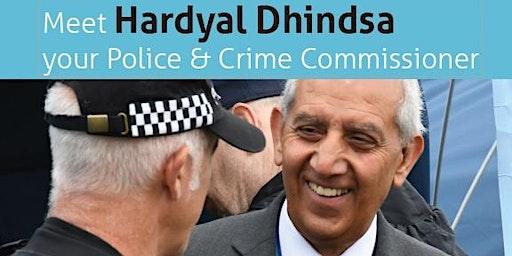 Meet Your Police & Crime Comissioner Hardyal Dhindsa - South Derbyshire