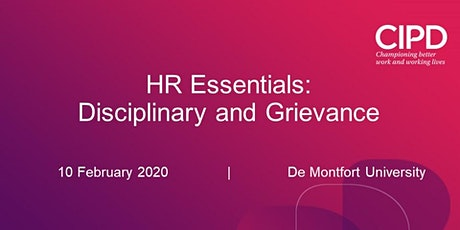 HR Essentials - Disciplinary and Grievance tickets