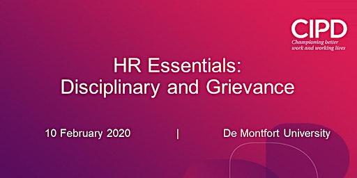 HR Essentials - Disciplinary and Grievance