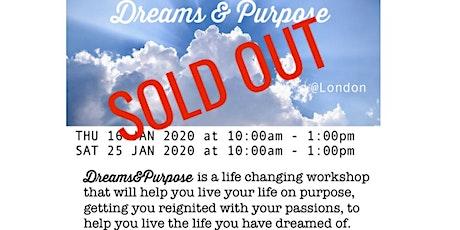 Dreams & Purpose 2020 tickets