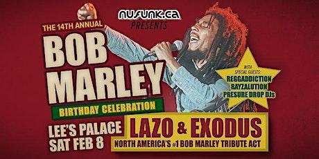 14th Annual Bob Marley Birthday Tribute tickets