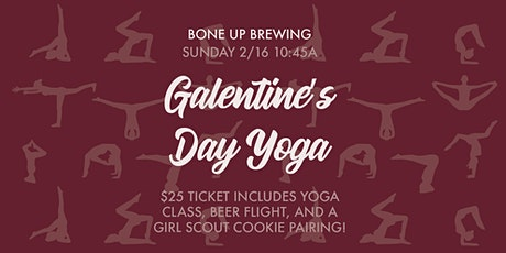 Galentine's Day Brewery Yoga + Girl Scout Cookie Pairing tickets