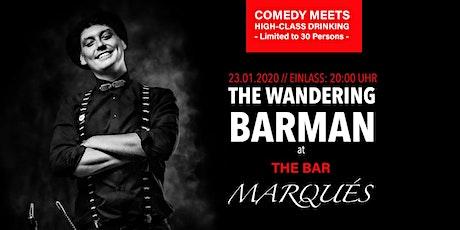 The Wandering Barman at The Bar Marqués tickets